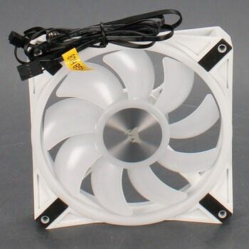 Ventilátor Corsair iCUE QL140 RGB bílý