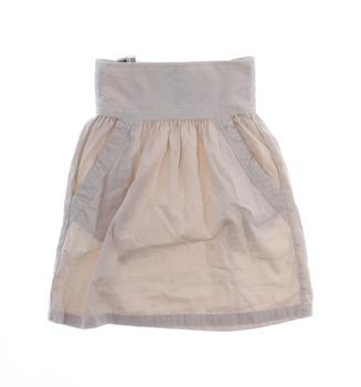 Dámská sukně ZARA Basic béžová