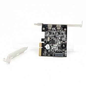 Síťová karta StarTech PEXUSB312CZ
