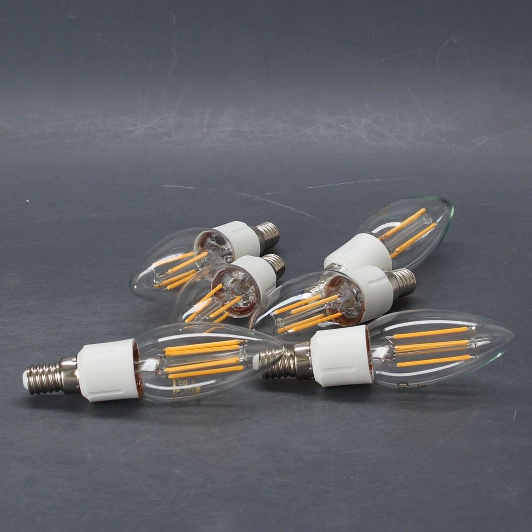 LED žárovka patice: E14 6 ks Osram