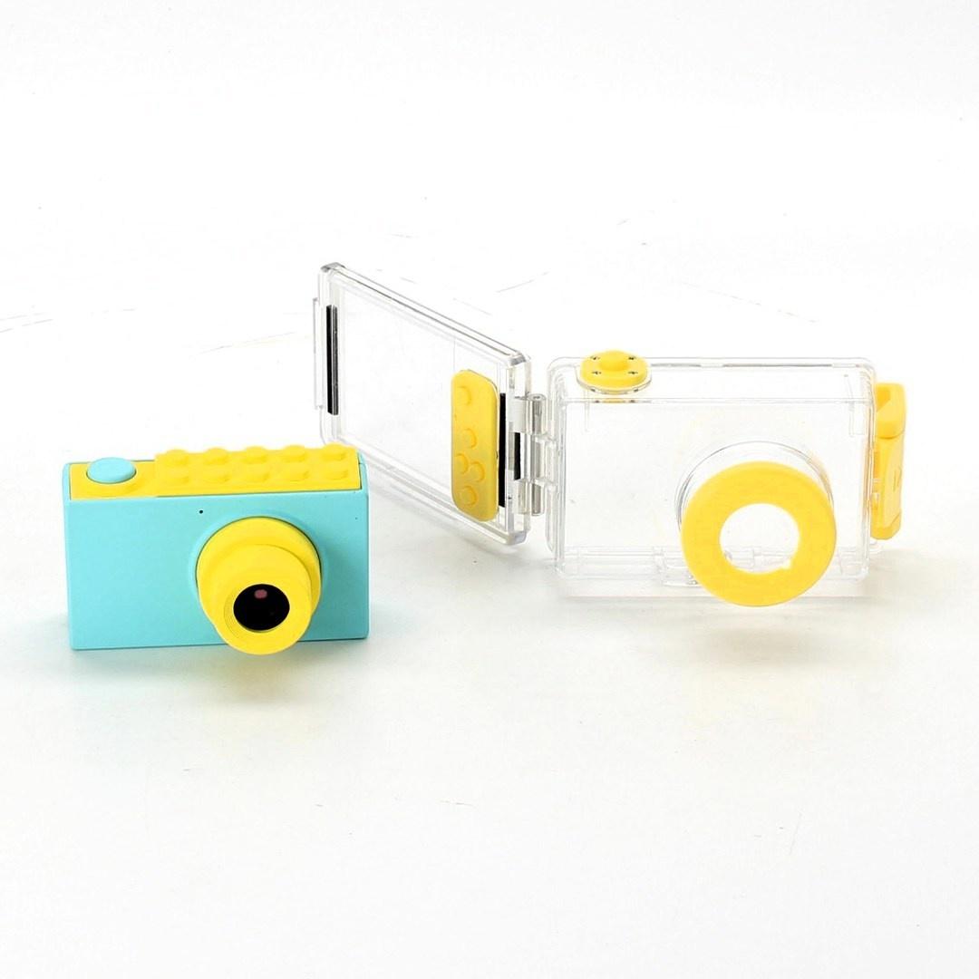 Fotoaparát ShinePick 8 MP/HD1080P tyrkysový
