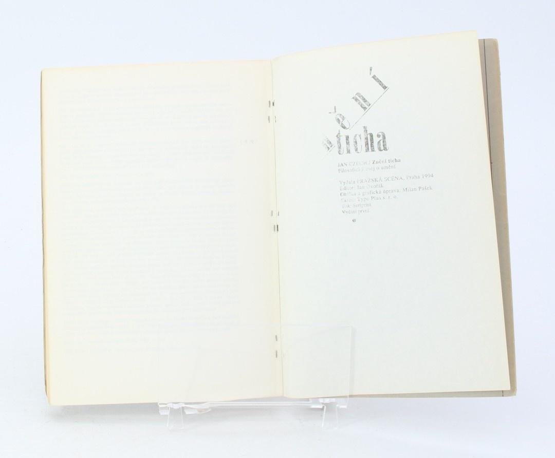 Kniha Jan Czech: Znění ticha