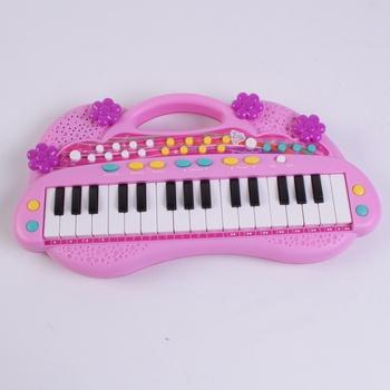 Klávesy Simba My music world Girls růžové