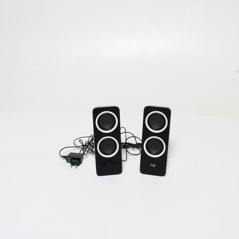Reproduktory Logitech Z200, 2ks, černé