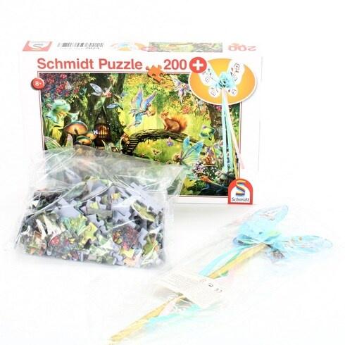 Puzzle 200 Schmidt Spiele 56333 víla v lese
