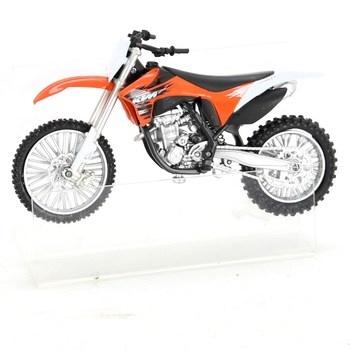 Model oranžové motorky NewRay KTM 1:12