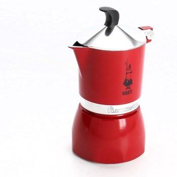 Červený kávovar Bialetti Fiametta 3 šálky