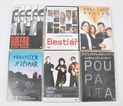 Sada 6 DVD Jedna ruka netleská, Bestiář,
