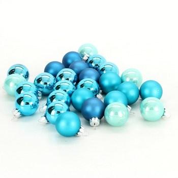 Vánoční modré koule Inge-Glas 15106D001