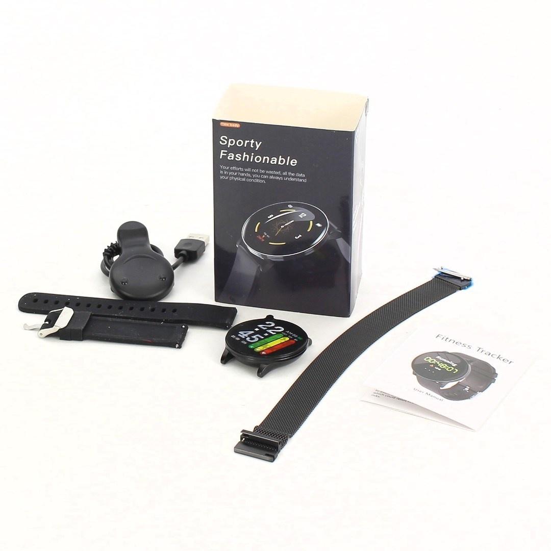 Chytré hodinky NEEKFOX černé