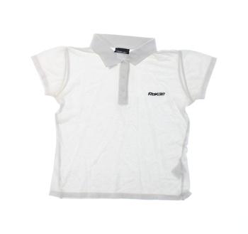 Dětské polo tričko Reebok bílé