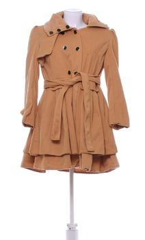Dámský kabát jaro/podzim hnědý L