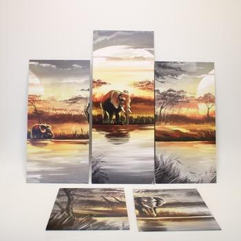 Obraz Africa Elephant Runa Art 000751a