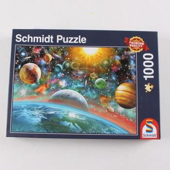 Puzzle 1000 Schmidt 58176 Vesmír