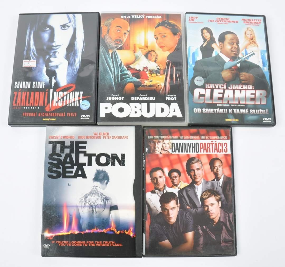 5 filmů na DVD (Pobuda, The Salton Sea)