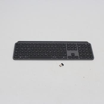 Bezdrátová klávesnice Logitech MX KEYS, DE