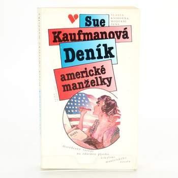 Kniha Deník americké manželky Sue Kaufmanová