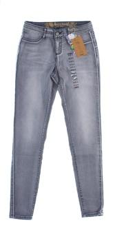 Dámské džíny Desigual Skinny šedé