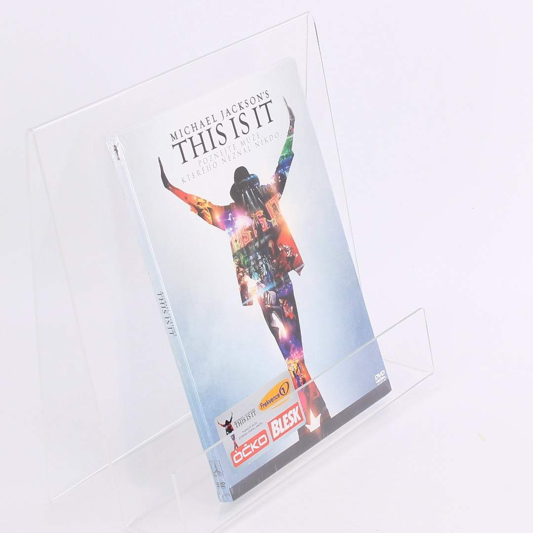 Hudební DVD This is it-Michael Jackso Kenny Ortega