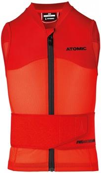 Páteřák Atomic Live Shield Vest Jr Red