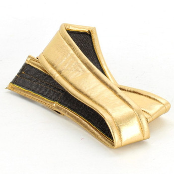 Dámský pásek zlatý metalický