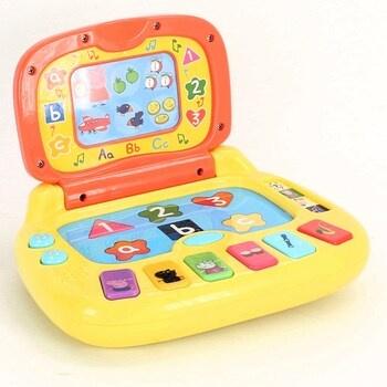 Dětská hračka Peppa Pig Notebook DE