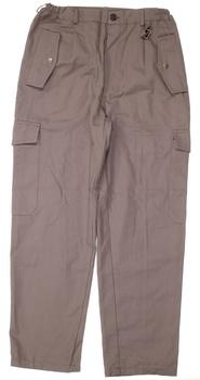 Pánské plátěné kalhoty khaki