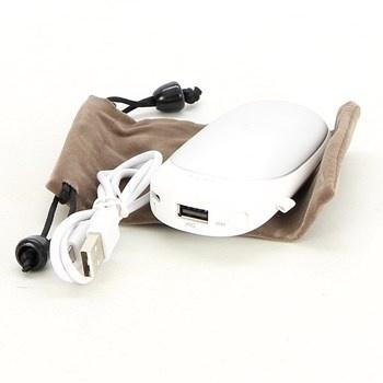 Powerbanka Handwärmer T98 USB bílá