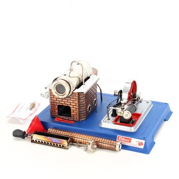 Dvojčinný parní stroj Wilesco D 10