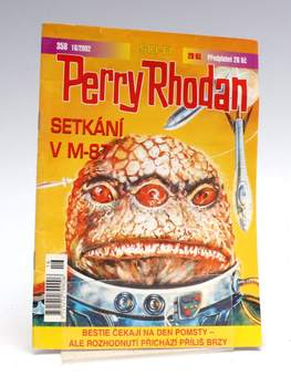 Kniha Perry Rhodan: Setkání v M-87