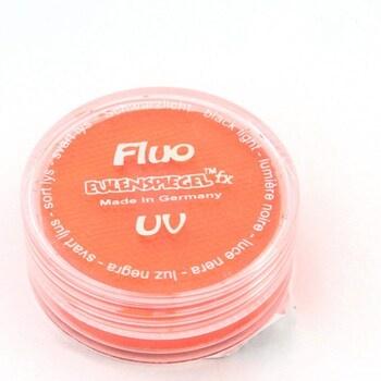 UV barva na obličej Eulenspiegel oranžová