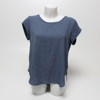 Dámské tričko Only modré se zipem