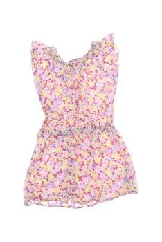 Dívčí šaty Kiki&Koko s motýlky a kytičkami