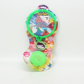 Gumová hračka Eddy Toys zelená