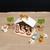 Vánoční dekorace dřevěný betlém Sevi