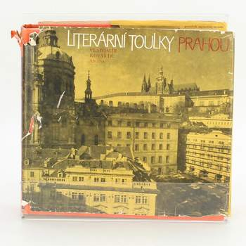 Obrázková kniha Literární toulky Prahou