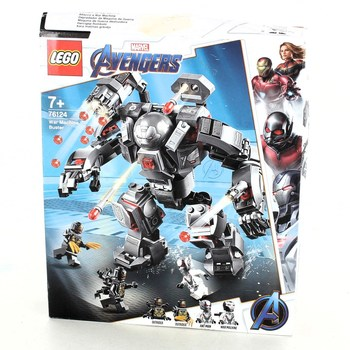 Stavebnice Lego 76124 Avengers War Machine