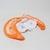 Nafukovací kruh s vestou Freds oranžový