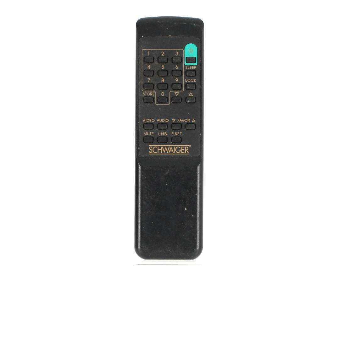 Dálkový ovladač k TV Schwaiger černý
