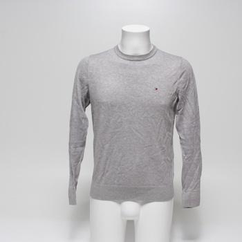 Pánský svetr Tommy Hilfiger šedý vel. S