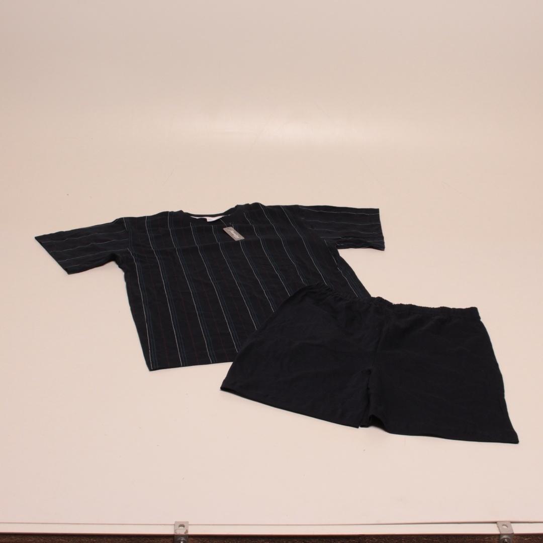 Pánské pyžamo Moonline černé