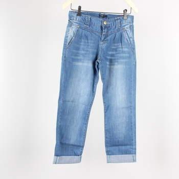 Dámské džíny Oodji odstín modré ohrnuté f9f48aaf5c