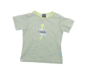 Dětské tričko Coccodrillo zelené
