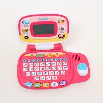 Dětský notebook Vtech 3480-155457 růžový