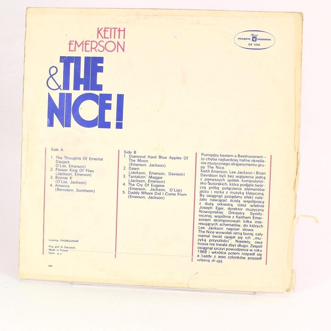 Gramofonová deska Keith Emerson and The Nice