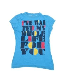 Dětské tričko s potiskem Terranova modré