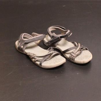 Sportovní sandále Hi-Tec odstín šedé