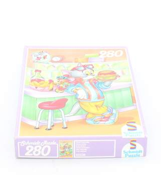 Dětské puzzle Schmidt: Tom a Jerry