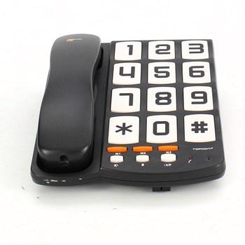 Pevný telefon Topcom Sologic T101