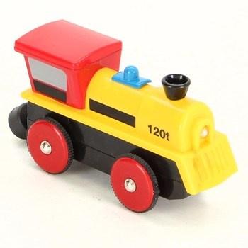 Lokomotiva Eichhorn 100001301 žlutá